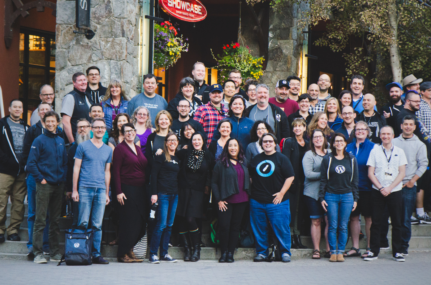 Some of the over-40-year-old workers at Automattic (image taken by my co-workerJen Hooks at our company's Grand Meetup at Whistler).